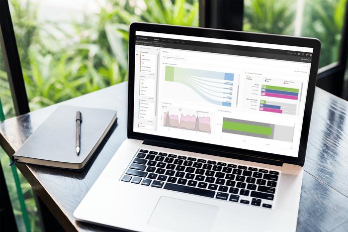 L'interface d'Adobe Analytics