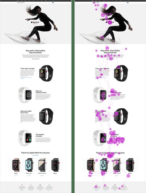 modèle tondeuse à gazon - exemple Apple