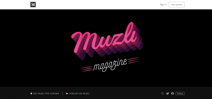 Capture d'écran de Muzli