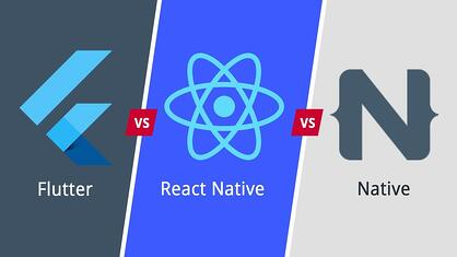 pourquoi et quand développer une application mobile - flutter native react