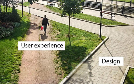 L'utilisateur de votre site peut avoir d'autres attentes que celles dont vous aviez pensé
