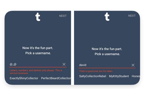 Qu'est-ce que l'UX writing? Exemple Twitter