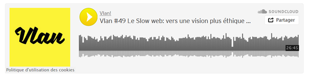 Podcast de Tariq Krim sur le slow web