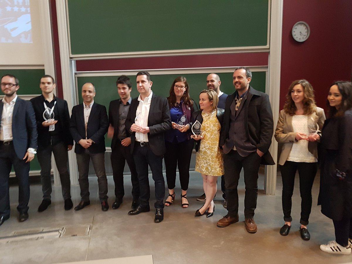 Les gagnants des Drupagora d'Or