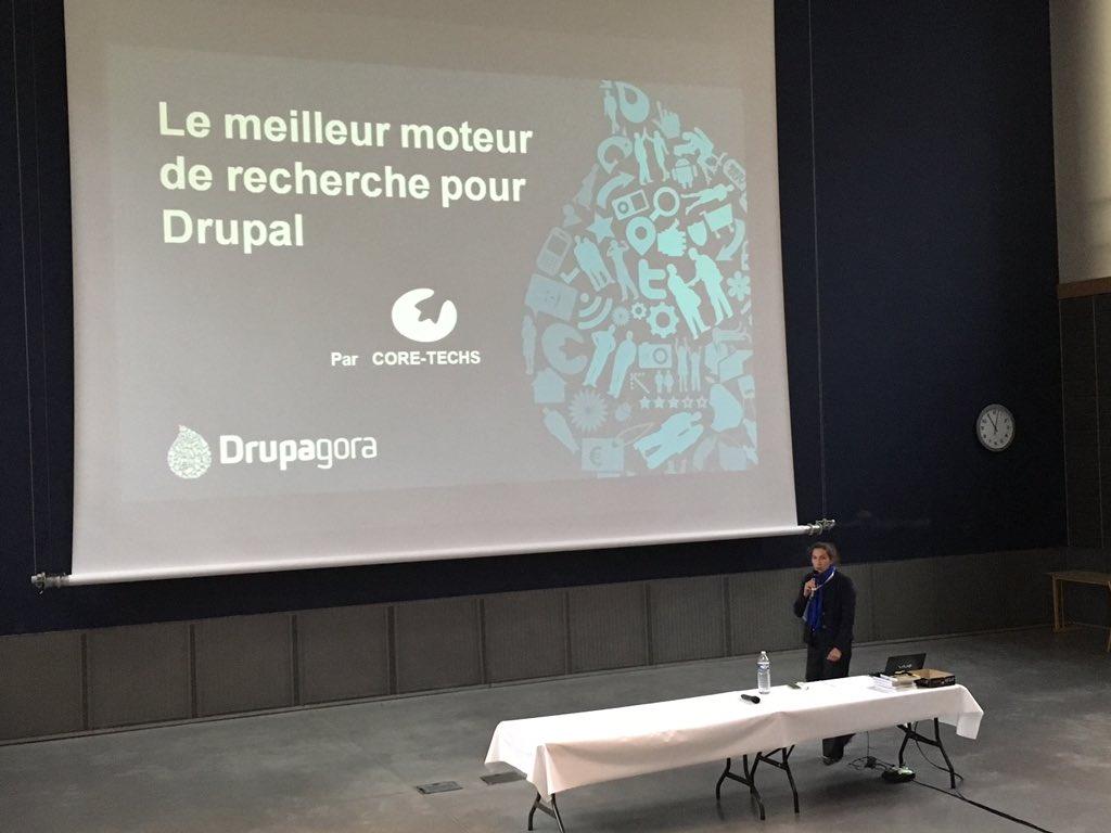 La conférence du Meilleur Moteur de Recherche pour Drupal