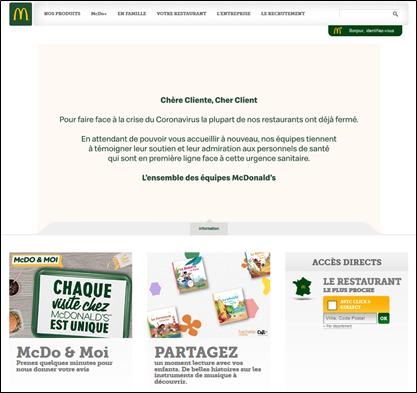 Site de McDonald's